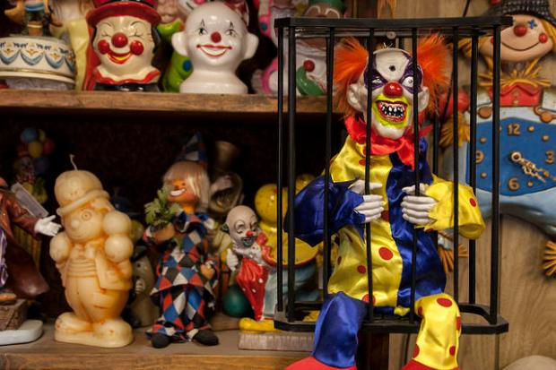 Clowns at the Clown Motel